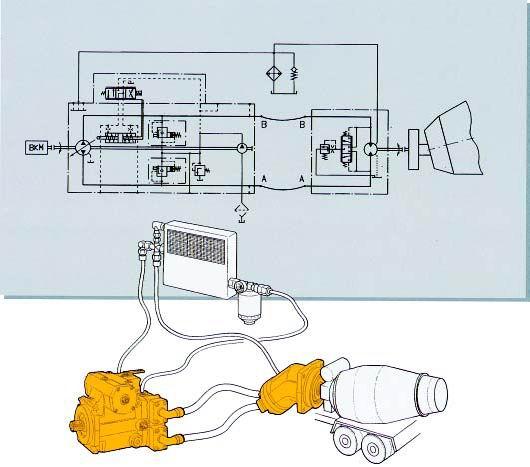 cc油泵控制电路图